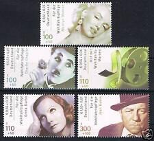 2218-2222 ** BRD 2001, Wohlfahrt. Int. Filmschauspieler