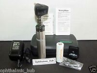 Welch Allyn 3.5v Otoscope Ophthalmoscope with Ni-Cad in Case 97220-C Free Ship