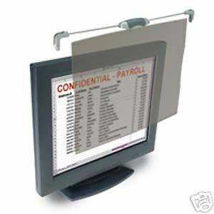 "KENSINGTON FLAT PANEL PRIVACY FILTER SNAP 2 NEW 55705 for 19"" flat panel screens"