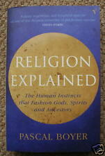 RELIGION EXPLAINED - Comprehensive Book by PASCAL BOYER