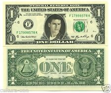 TOM CRUISE VRAI BILLET DOLLAR US ! Collection Acteurs Cinema Hollywood Aventure