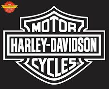 Harley Davidson Logo Rear Window Decal Sticker Car Truck Auto RV Trailer Decals
