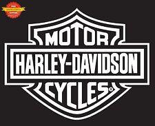 Harley Davidson Logo Rear Window Decal Sticker Car Truck Auto RV Trailer Decals