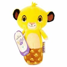 Disney SIMBA LION KING itty bittys Baby Rattle Hallmark Gift NEW! With Tags
