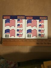 Patriotic Lot Usa American Flag Stickers Decals Emblems for Jeep Truck Suv Car