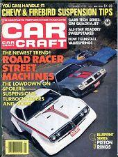 Car Craft Magazine May 1978 Chevy Firebird VG No ML 112316jhe