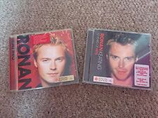 Ronan Keating 10 Years of Hits & Ronan Both Special Edition CD's