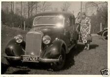 4100/ Originalfoto 7x10cm, Mercedes Benz 170, ca. 1950