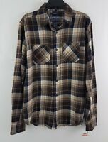 American Rag Cie Men's Long Sleeve Flannel Shirt