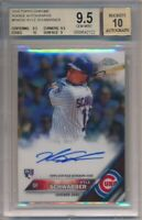 2016 Topps Chrome Kyle Schwarber Rookie Autographs BGS 9.5 Auto 10 #2122