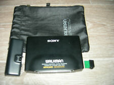 Walkman SONY WM-701C BLACK -WORKING-VERY GOOD CONDITION WITH ACCESSORIES