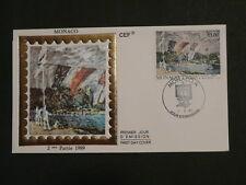 paintings Sisley impressionist FDC Monaco 42213