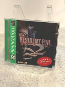 Resident Evil 2 Capcom PS1/PlayStation 1 Case Manual & Back Art ONLY (NO GAME)