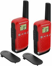 4Km Motorola TLKR T42 Walkie Talkie 2 Two Way PMR 446 Compact Radio Twin Set