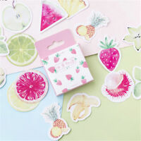 45pcs fruits paper sticker diy diary decor for album scrapbooking station MD