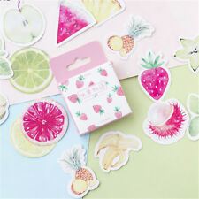 45pcs fruits paper sticker diy diary decor for album scrapbooking stationery QZ