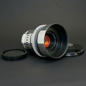Silver Helios 44M 58mm F2 Amber Anamorphic flare & Bokeh cine lens for Sony E