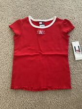 Tommy Hilfiger Toddler Girl T-Shirt Red Size  4T