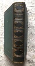 JUDAICA - A.BEN BARUCH CRÉHANGE : LA SEMAINE ISRAÉLITE 1846, gravures - relié