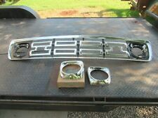 NOS 1964 FORD TRUCK STAINLESS GRILLE HEADLIGHT BEZELS F100 F250