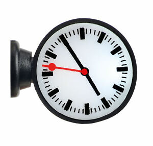 Viessmann 1383 - H0 Illuminated Station Clock, LED White - New
