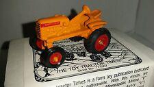 1/64 ERTL farm toy ttt spec cast agco minneapolis moline v wf tractor htf! nib!