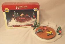 Lemax Hearthside Village 1996 Porcelain Animated Merry-Go-Round**FREE SHIPPING!!