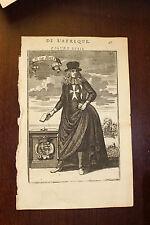 ✒ 1683 MANESSON MALLET Gregorio Carafa grand maître de l'ordre de MALTE