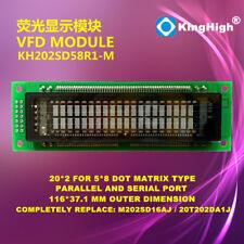 20X2 2002 DOT Matrix VFD LCD Module Display Screen Compatible 20T202DA2JA