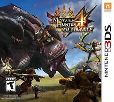 neuf monster hunter 4 Ultimate (Nintendo 3DS, 2015)