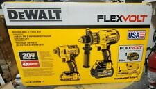 DeWalt DCK299D1T1 Flexvolt Max Brushless impact & hammer drill Combo Kit New
