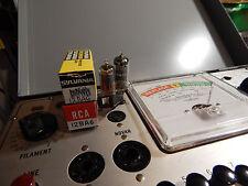 Vintage Tube RCA and Grandco Germany 12BA6 Pair