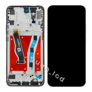 For Huawei Y9 Prime 2019 STK-LX3 LCD Touch Screen Digitizer Assembly + Frame