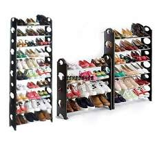 Home Portable Closet Storage Organizer Cabinet Shelf Shoe Rack - 10 Layer