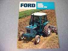 Ford 4100, 4600, 4600SU Farm Tractor brochure                       lw