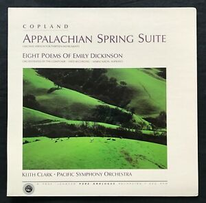Copland APPALACHIAN SPRING Keith Clark TAS Audiophile REFERENCE RECORDINGS RR-22