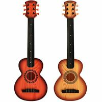 """Kids Beginners 26"""" Acoustic Guitar 6 String and Pick Children Music Rock Star"""