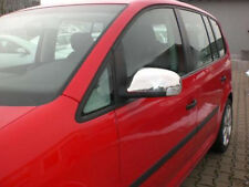 VW TOURAN CHROME WING MIRROR COVERS STAINLESS STEEL 2003 - 2009