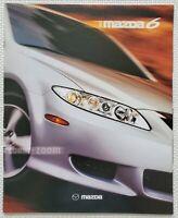 2003 Mazda 6 Sales Brochure