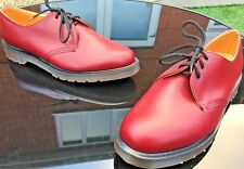 Vintage Dr Martens 1461 cherry leather shoes UK 10 EU 45 Made in England