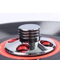 Silber Plattengewicht / Record Clamp Weight LP Vinyl Turntables Disc Stabilizer
