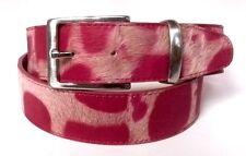 Briccino Gürtel pink Belt Echt Fell 100 cm Kürzbar mein bisheriger Preis 39 €