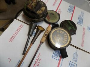 pre-owned  - 3 - Turkey Hunting Game Calls - 2 Primos, =1 H.S.Strut, used