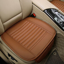 Portable PU Leather&Bamboo Charcoal Car Truck Seats Breathable Pad Cushion Cover