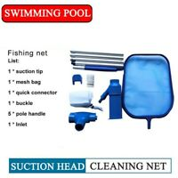 Swimming Pool Vacuum Cleaning Tool Professional Pool Cleaning Net Set Suction