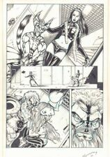 Hellion #? p.16 - Babe and Creatures - Signed art by Tim Seeley