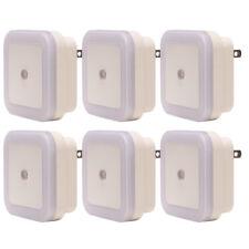 Plug in LED Night Light - Light Sensor for kids room bedroom bathroom (10 Pack)