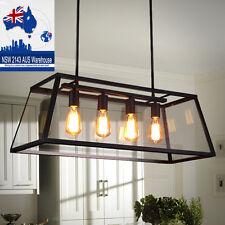 Glass Pendant Light Bar LED Ceiling Lights Large Chandelier Lighting Office Lamp