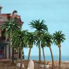 15pcs Gauge Model Coconut Palm Trees HO O N Scale Scenery Tree House Home Decor