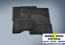 FORD GENIUNE RUBBER ALL-WEATHER FLOOR MATS EXPLORER 2016-2017 4 PC.